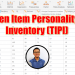 Ten Item Personality Inventory (TIPI)